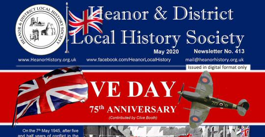 Heanor Local History Society - Download A Free VE DAY 75 Newsletter