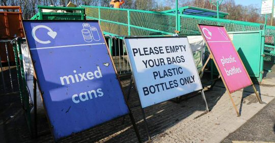 Restrictions At Household Waste Recycling Centres Eased