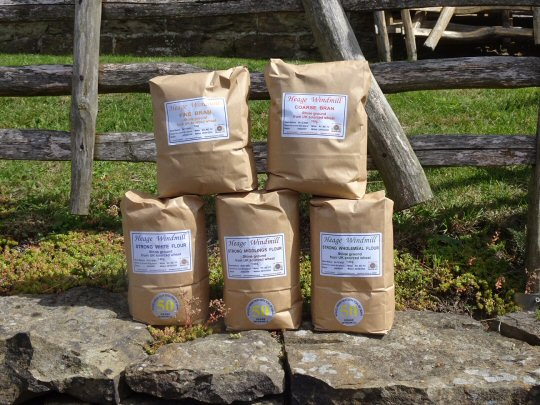 Stone Milled flour on Sale At Heage Windmill