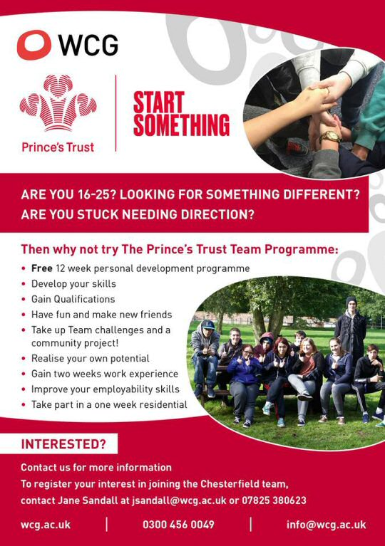 Prince's Trust start their next Team Programme