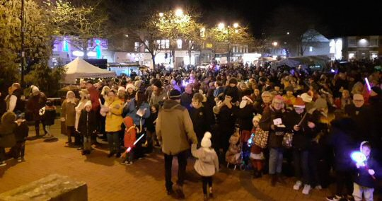 Ripley Christmas Light Switch On Cancelled