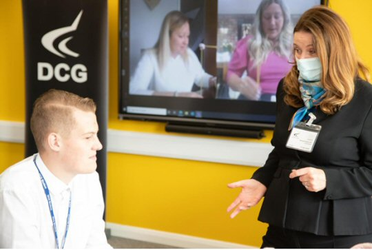 Apprenticeships and Skills Minister Visits DCG