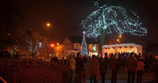 Christmas lights switch on goes virtual! in Alfreton