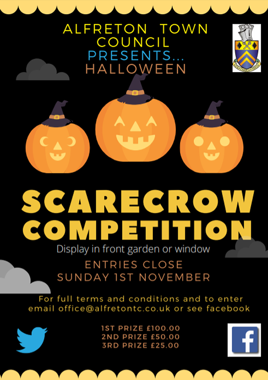 Alfreton Town Council - Halloween Scarecrow Competition
