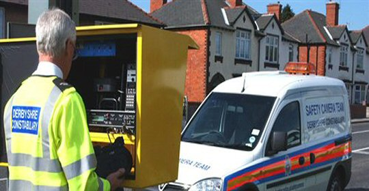 Mobile speed camera locations in Derbyshire until the 5th November
