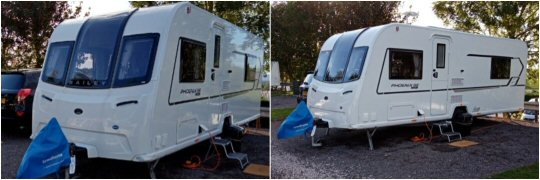 Caravan stolen from Clay Cross