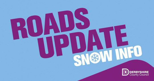 Roads Update From Derbyshire County Council