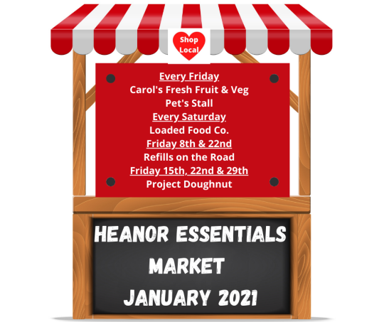 Heanor Essentials Market - January 2021