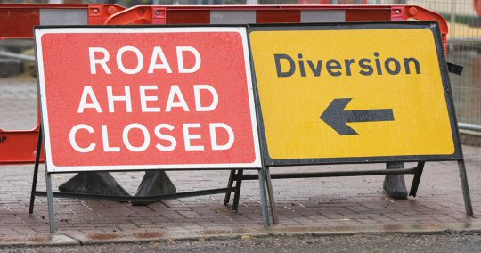 Temporary Road Closure - High Road, South Wingfield