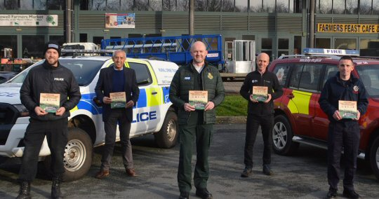 Booklet to increase safety in rural areas is launched in Derbyshire