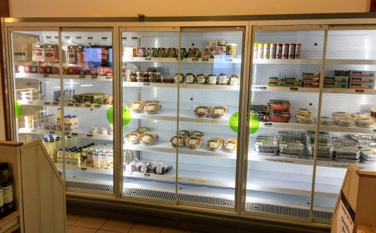 Croots Farm Shop installs energy-saving fridges after grant from the DE-Carbonise project