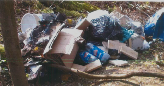 Use of unregistered waste removal company results in prosecution