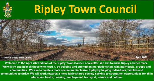 Ripley Town Council April 2021 Newsletter Now Available