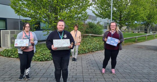 DCG Students Create Memory Boxes For Local Care Home Residents