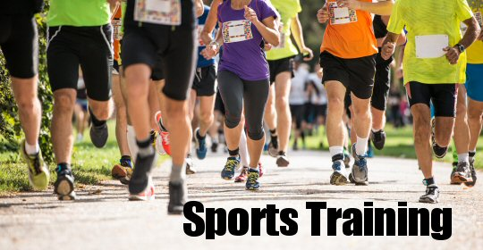 Sports Training events in and around The Amber Valley