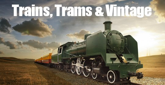 Trains, Trams & Vintage Vehicle Events in and around The Amber Valley